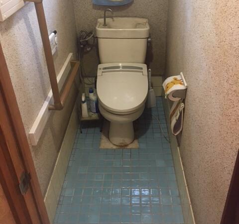 作業前トイレ