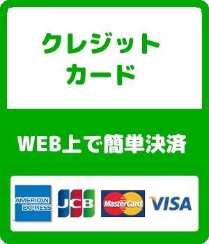支払い:クレジットカード