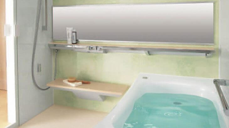 浴室の混合水栓取り替え 東京都東久留米市