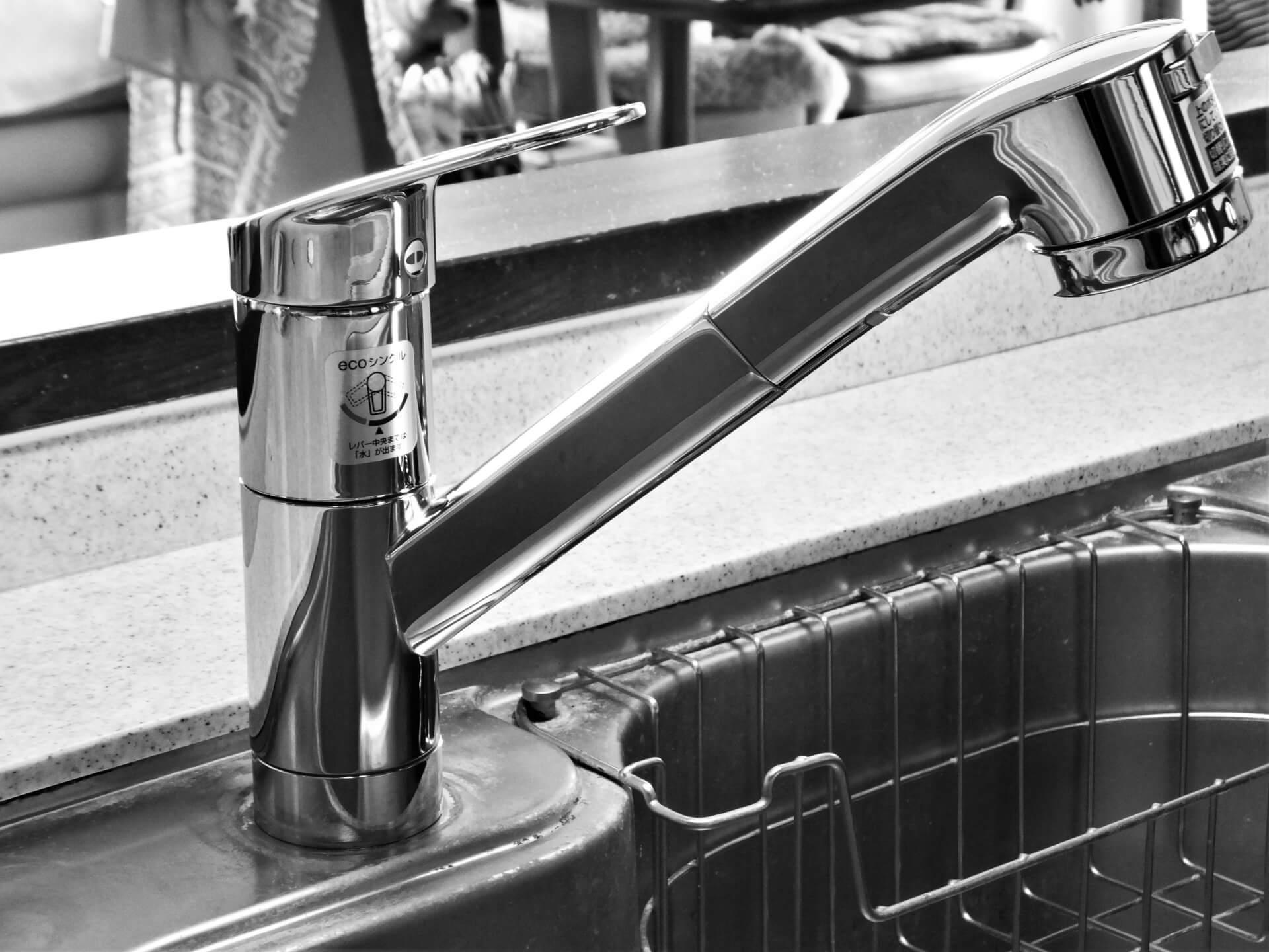 シングルレバー混合水栓の修理方法