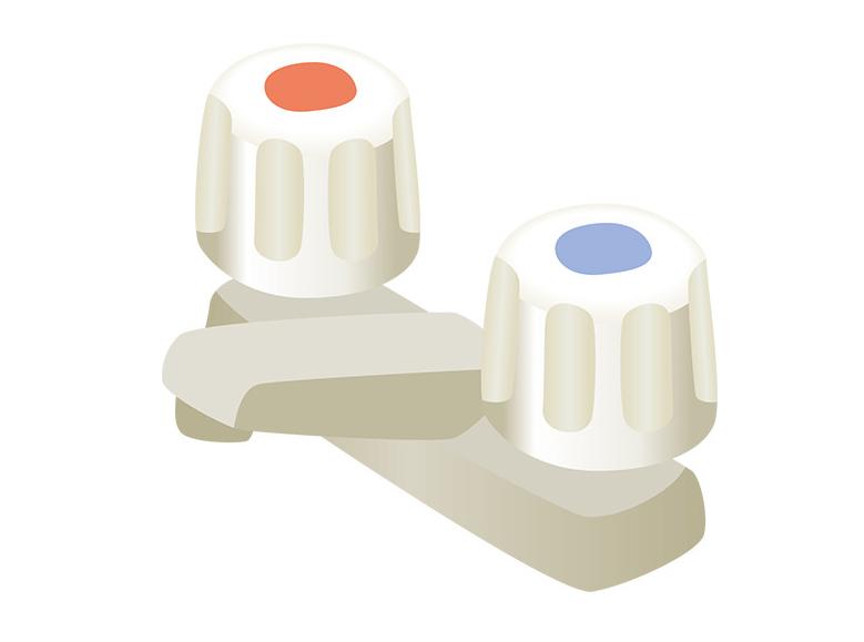 ハンドル混合水栓